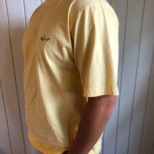 Greg Norman Plain Yellow shirt